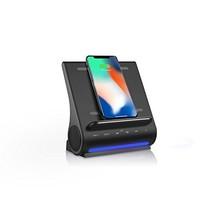 Azpen Dockall D100 - Qi Wireless Charger, Bluetooth Premium Speakers, Do... - $76.81