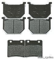 Suzuki Disc Brake Pads GSX1100S 1990 & 1994 Front & Rear (3 sets)