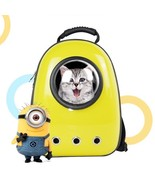 Space Capsule Style Pet Carrier Plastic Applicable To Small Pets Breatha... - $68.23