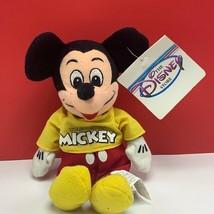 Walt disney store bean bag plush beanbag stuffed animal Mickey Mouse spi... - $19.07