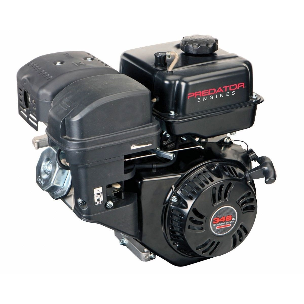 "PREDATOR 346 cc OHV HORIZONTAL SHAFT GAS ENGINE PARTS - HEAD BOLTS 3  1/2""    T1 image 4"