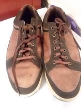 FootJoy FJ Contour Casual 54275 Spikeless Brown Leather Golf Shoe Mens 1... - $29.69