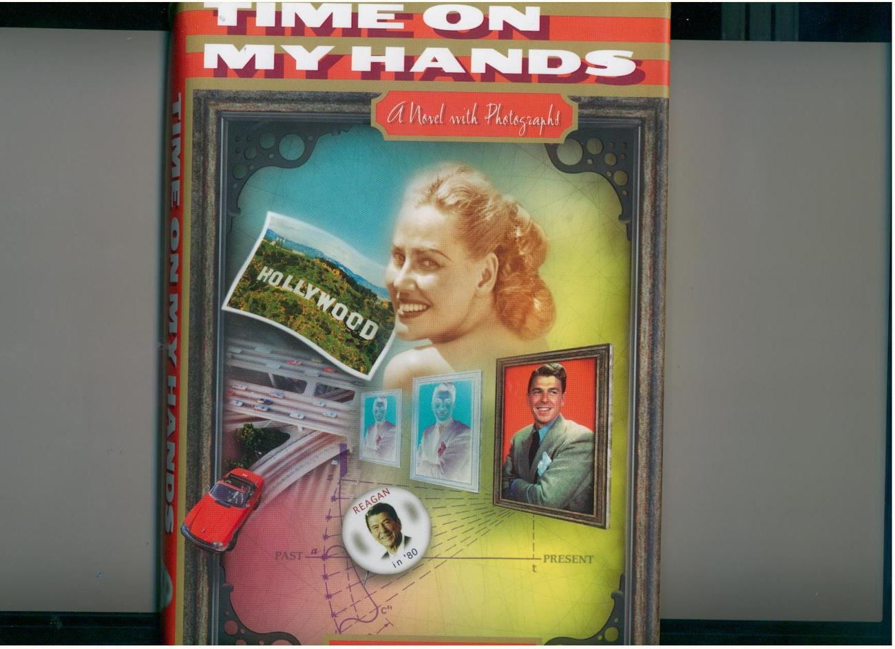 Delacorte--TIME ON MY HANDS--1997--1st hb/dj-- time travel