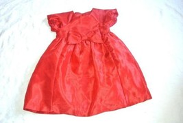 Gymboree Red Christmas Holiday Party Dress 4T Bow - $14.80