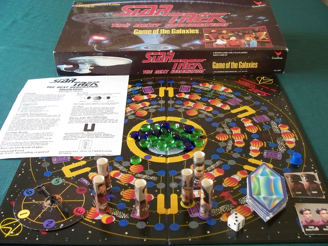 Star Trek Next Generation Game Of The Galaxies Complete