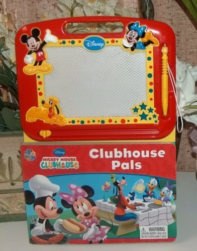 Disney Clubhouse Pals Magnetic Drawing Pad and Book