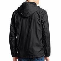Maximos Men's Water Resistant Hooded Lightweight Windbreaker Rain Jacket Jasper image 4