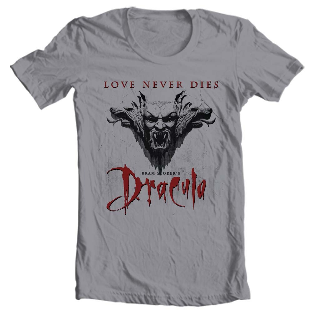 Bram stokers dracula t shirt vampire retro online tee for sale