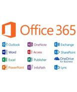 Microsoft Office 365/2019 ProPlus Lifetime 5PC/5TB/Windows, Mac, Mobile/... - $4.99