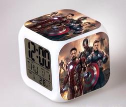 Marvel The Avengers LED Alarm Clock #23 - $23.99