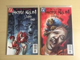 Arkham Asylum Living Hell (DC, 2003) #5, 6 Slott, Sock, Von Grawbadger - $10.80