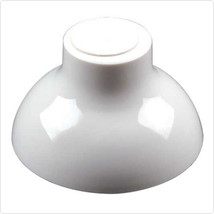 White Plastic Pedestal Dip Dishes/Set of 24 - £48.79 GBP