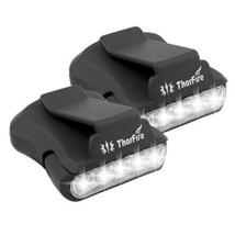 Thorfire Cap Hat Light 5-LED Headlamp Rotatable Ball Cap Visor (Pack of 2) - $20.82