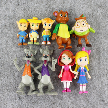 Anime Goldie and Bear PVC Figure Doll Pop Collection Toy Home Décor 9pcs... - $17.00