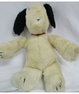 """Rare Vintage 1968 Snoopy with Red Collar 16"""" Peanuts Gang by Applause - $2.97"""
