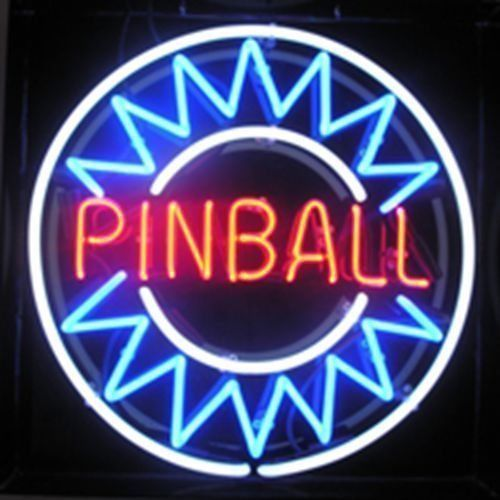 """New Pinball Game Back To The Arcade Neon Sign 24""""x20"""" Ship From USA"""