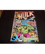 The Incredible Hulk #191 Marvel Comic Book VG 6.0 1975 The Toad - $4.49
