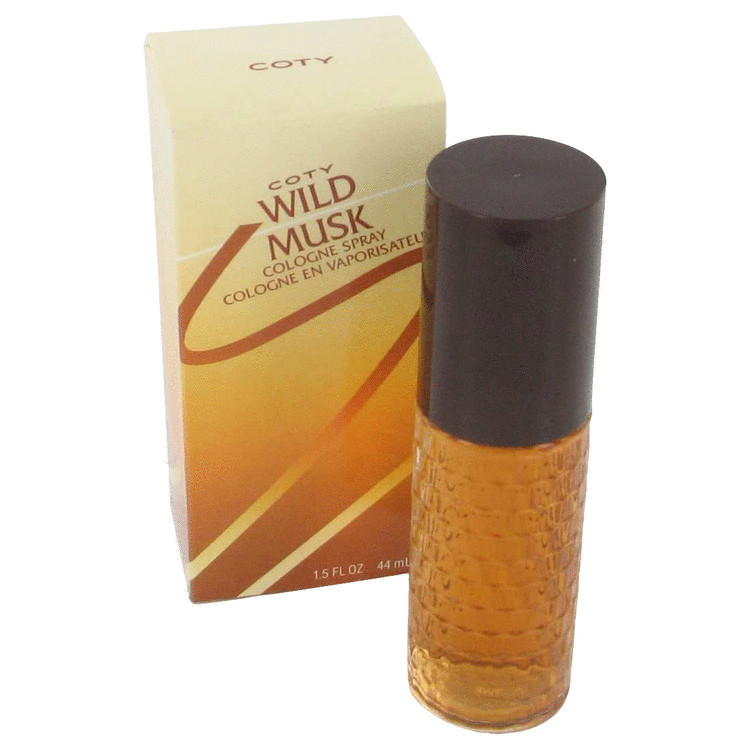 Primary image for WILD MUSK by Coty Cologne Spray 1.5 oz