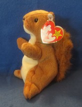 Ty Beanie Baby Nuts 5TH Generation Tag is creased - $4.94