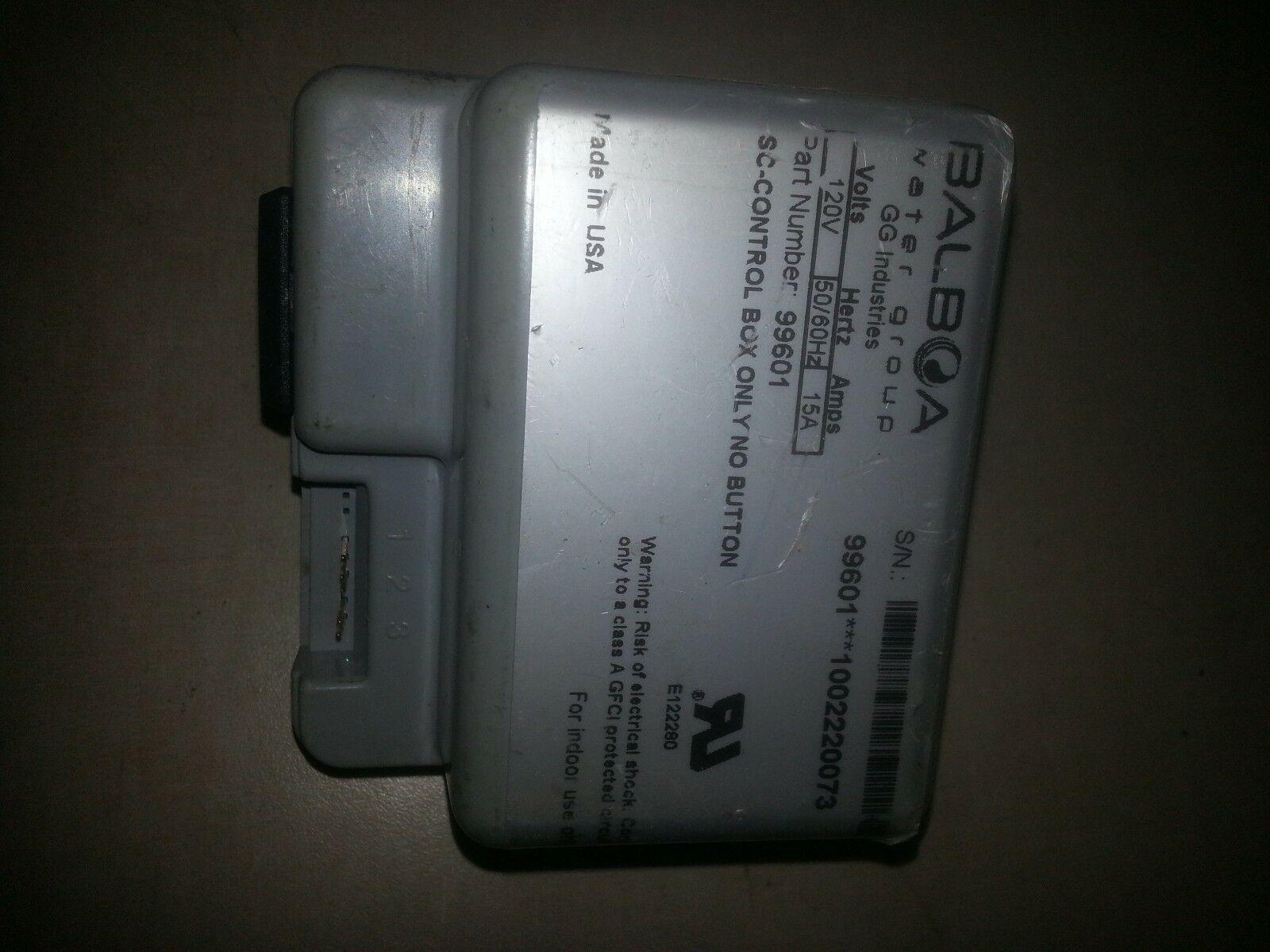 Balboa 99601 Electronic Control Sensing Box No Button 120v 15A SC Control