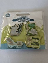 World Famous Jungle Cruise 4 Pin Set Disney Pin Trading - $29.69