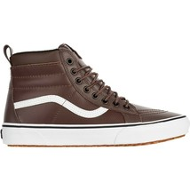 Vans Sk8 Hi MTE Rain Drum Leather Outdoor Skate Shoes Mens Size 10.5 - £72.17 GBP