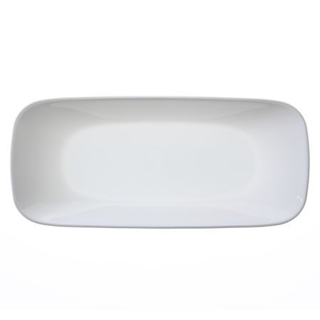 "Corelle Square Pure White 10.5"" Serving Tray"