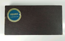 1953 Scrabble Replacement Parts- Board & Box Only, Selchow & Righter - $14.01