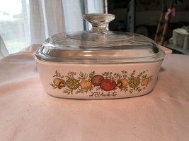 Corningware Spice of Life A1-B 1 Liter Casserole with Lid Gently Used - $29.99