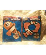 Splash Toy Fish and Matching Splash Ring Pool Toy Party Luau Orange - $9.35