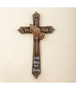 God Bless Our Family Wall Cross - $14.99