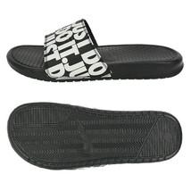 Nike Men's Benassi Just Do It Slides Sandals Slipper Black 631261-024 - $43.99