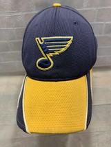 St Louis Blues Hockey Nhl New Era Fitted Adult Cap Hat Size M/L - £6.30 GBP