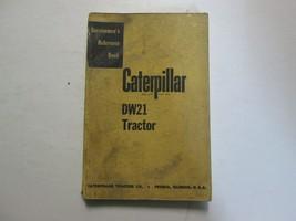 Caterpillar DW21 Trattore Servicemen's Riferimento Libro Usato Oem - $15.76