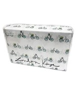 London Kaye Dogs Riding Bicycles Microfiber Sheet Set Queen - $58.00