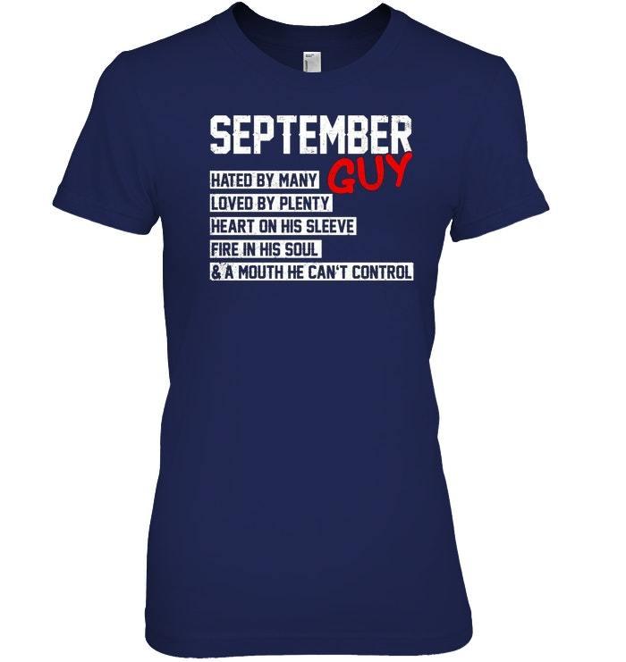 September Guy Hated By Many T Shirts Zodiac Virgo Pride
