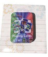 Cardinal Entertainment One PJ Masks Playing Cards Deck in Tin - New - $7.99