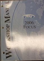 2006 Ford Focus Service Shop Repair Workshop Manual Oem Factory 2006 - $39.59