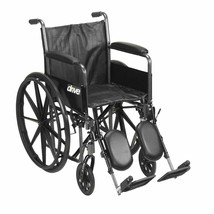Drive Medical Silver Sport 2 With Full Arms and Leg Rests 16'' - $181.60