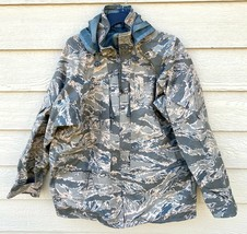 GENUINE USAF APECS ABU GORETEX TIGER STRIPE ALL PURPOSE PARKA - LARGE RE... - $113.85