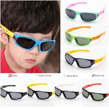 TAC Flexible Kids Sunglasses Acetate Polarized Boy Girl Child Sport Sun ... - $15.97