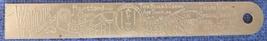 Noble & Westbrook vintage advertising ruler Hartford CT engravers - $22.00
