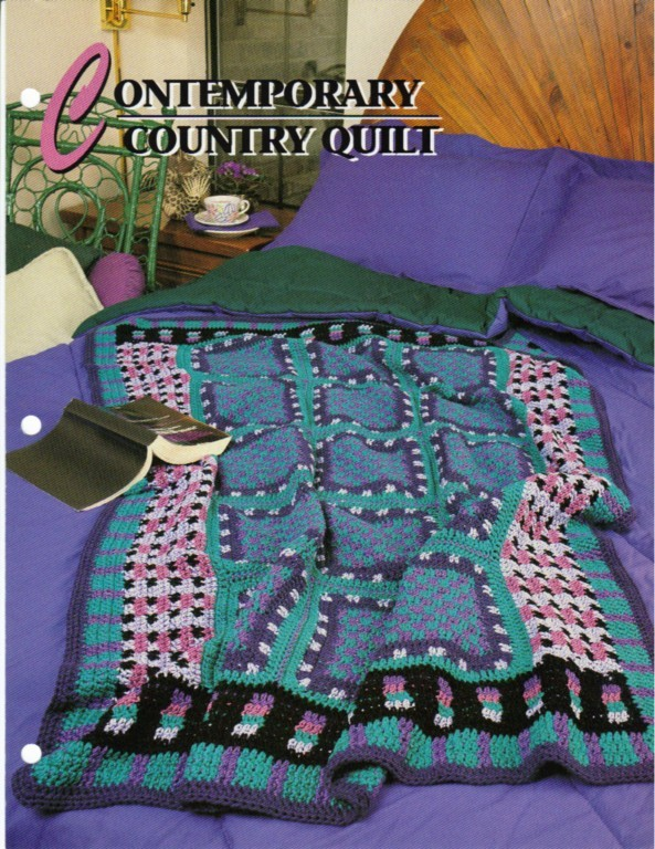 Contemporary country quilt annies