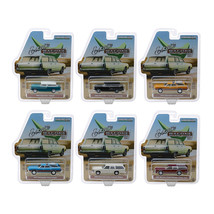 Estate Wagons Series 3, Set of 6 Cars 1/64 Diecast Models by Greenlight ... - $54.68