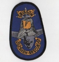 Grissom US Air Force Base Crash Rescue Patch Military Reserve Indiana - $14.84