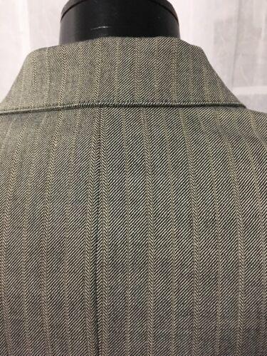 Anne Klein Women's Blazer Gray Fully Lined 1 Button Luxurious Size 4P NWT