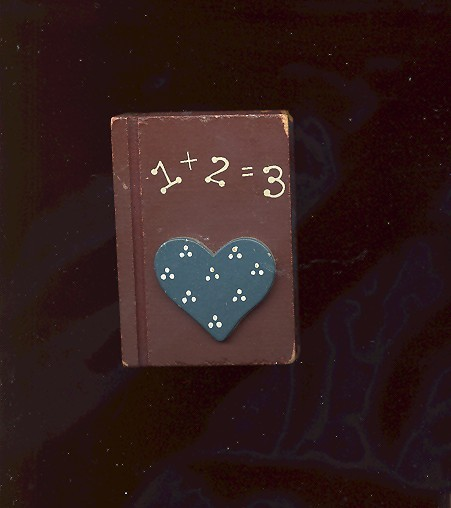 123 old school book magnet
