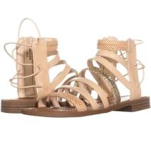 Nine West Xema Gladiator Sandals 551, Light Natural Multi, 5.5 US - $28.79