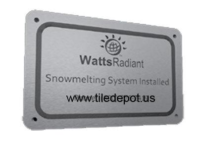 Promelt plaque