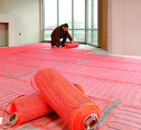 SunTouch Floor Heating Mats 50 sq